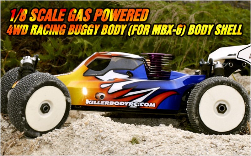 1/8 Nitro Racing Buggy bodies