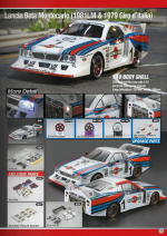 Lancia Beta Montecarlo Catalog Pages
