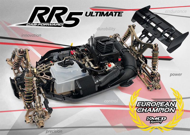 MCD RR5 CF Ultimate Rolling Chassis