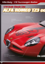 Alfa Romeo TZ3 corsa catalog pages