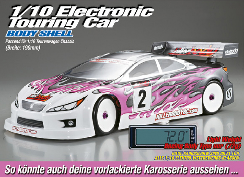 "1/10 Tourenwagen ""Light Weight"" Karosserie"