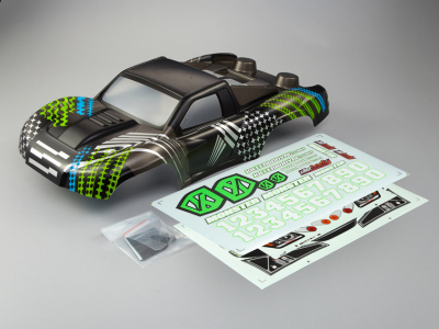 "SCT ""Monster (1/10), The Hulk Body, Decal Kit"