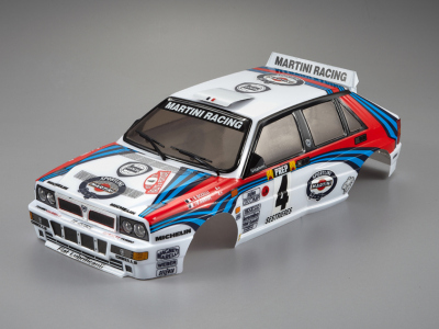 Lancia Delta HF Integrale (1/10), Rally Racing Body, RTU all-in