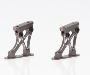 "Aluminum wing mountss CNC ""grey"" Short version"