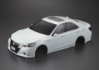 Toyota Crown Athlete (1/10), white body, RTU all-in