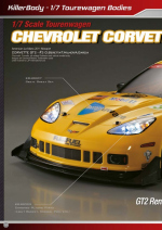 Chevrolet Corvette GT2 1/7 Catalog Pages