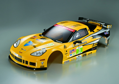 Corvette GT2 (1/7), Rally Racing body, RTU all-in