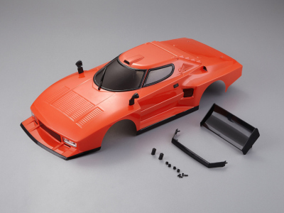 Lancia Stratos 1977 Giro d'Italia (1/10), orange body, RTU all-in