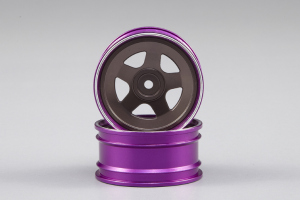 Lancia Stratos 1977 Giro d'Italia CNC alloy rims (grey / purple)