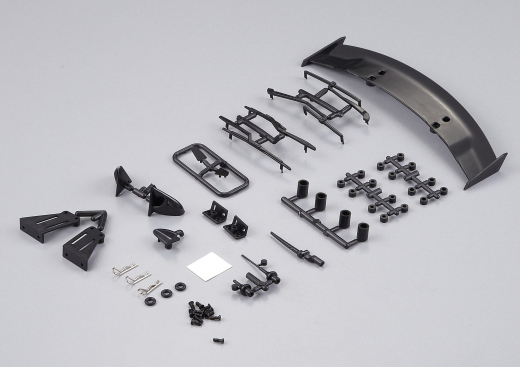 Plastic body detailing kit for 1/10 models