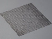 "Stainless steel mat ""diamond open"""