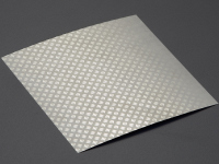 "Stainless steel plate ""checkers"""