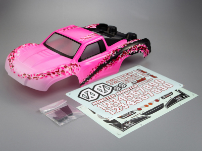 "SCT ""Monster (1/10), Lady Flower Body, Decal Kit"
