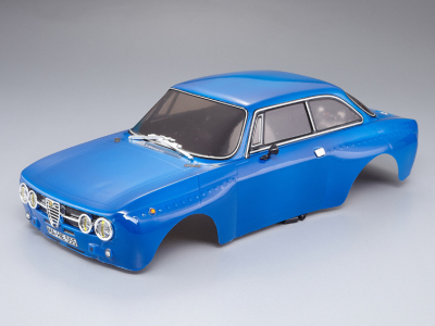 Alfa Romeo 2000 GTAm (1/10), blue body, RTU all-in