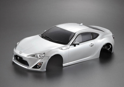 Toyota 86 (1/10), silver body, RTU all-in