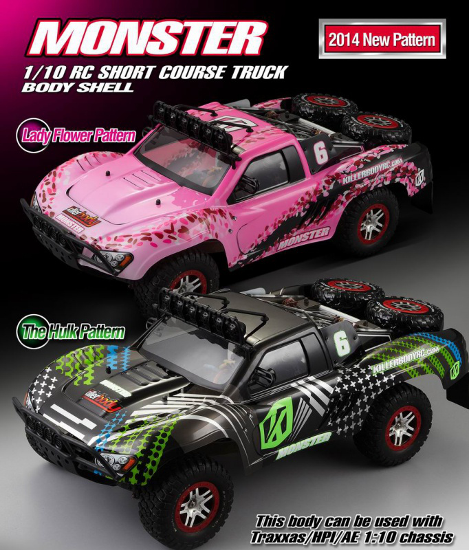 Monster RC Short Course Truck