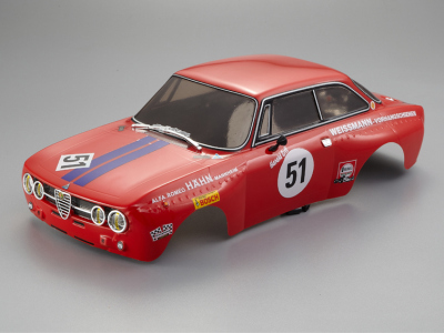 Alfa Romeo 2000 GTAm (1/10), Rally Racing body, RTU all-in