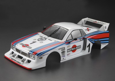 Lancia Beta Montecarlo (1/10), Rally-Racing Body, RTU all-in