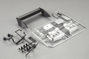 Lancia Beta Montecarlo - Plastic Parts Set